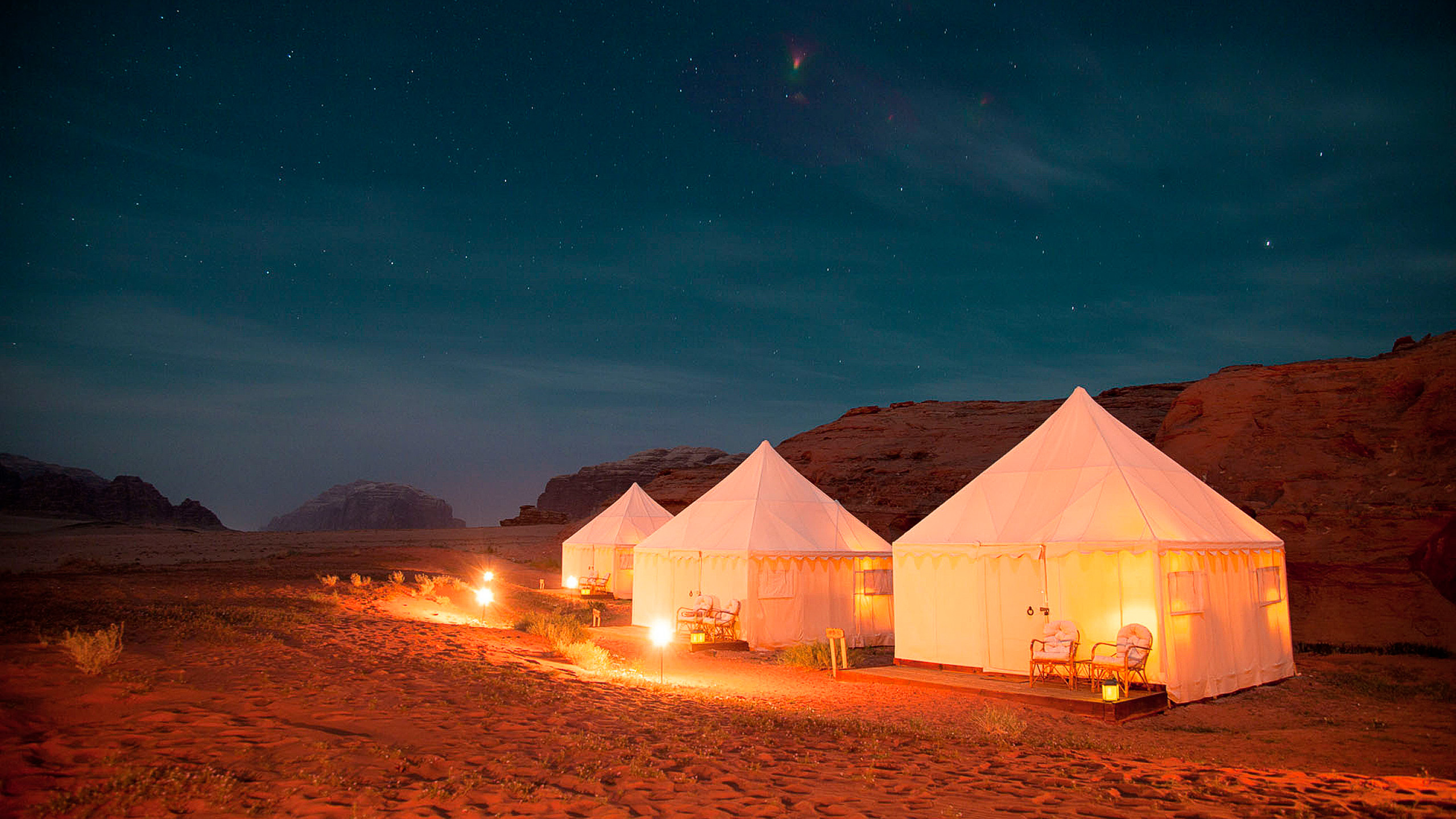 A&K Exclusive Desert Tented Camp   Tent