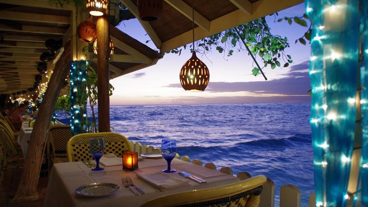 Restaurant view, Barbados