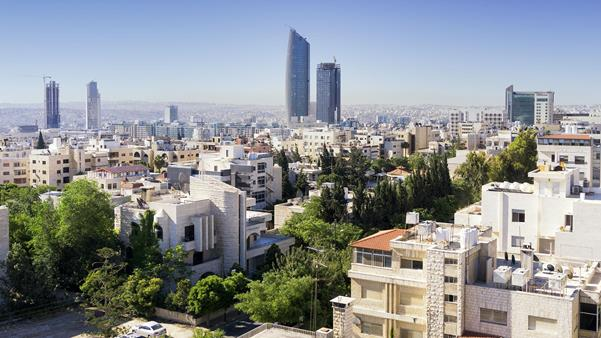 City view of Amman