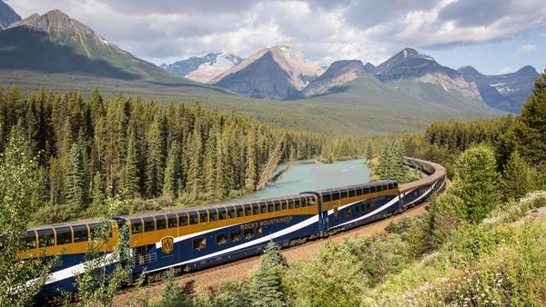 Classic Rockies featuring Rocky Mountaineer