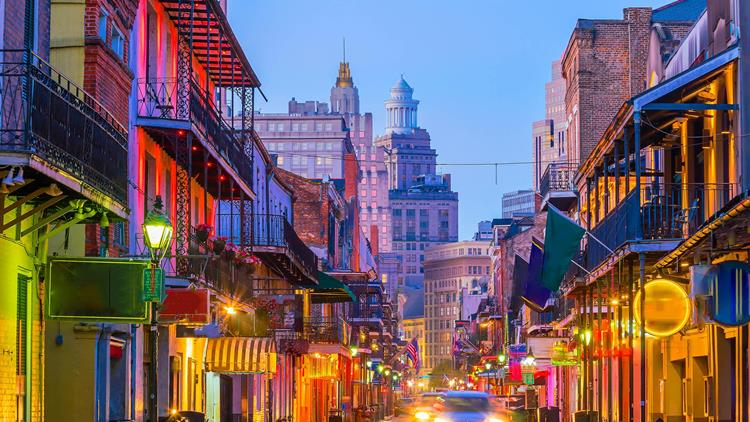 New Orleans, Deep South, USA